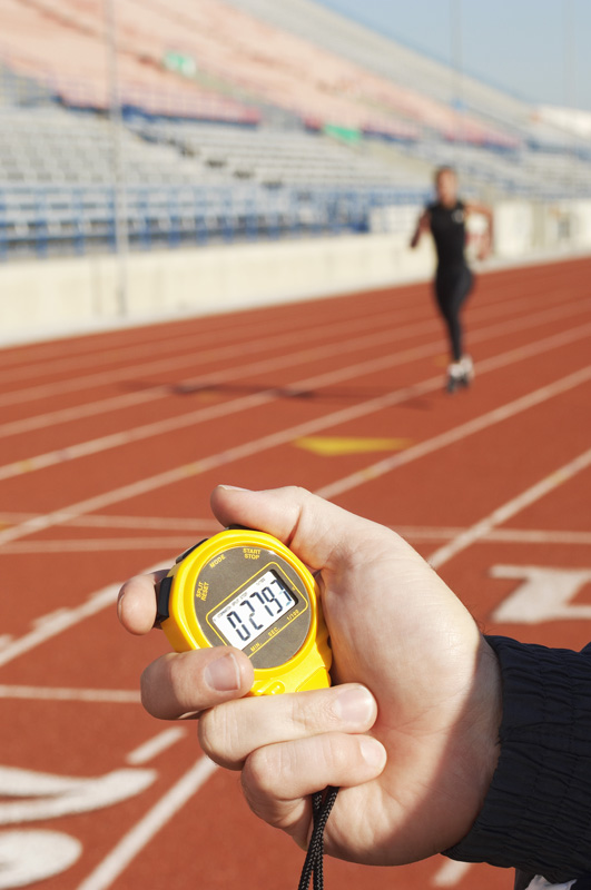 Stopwatch Timing Runner